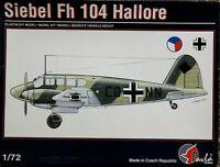 Pavla Models 1/72 Siebel Fh / Si-104 Hallore unmade kit complete sealed bag.