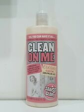 SOAP & GLORY CLEAN ON ME CLARIFYING SHOWER GEL BODY LOTION 500ML