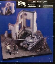 1/35 BATTLE DAMAGED VILLA. VERLINDEN 2417. NEW