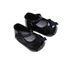 Fashion Black Shoes Boots For 18inch Girl Doll Party Gifts Baby Toys Sl