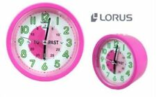 Lorus LHA102P Pink Time Teacher Wall Clock