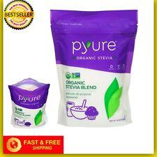 Pure Organic Stevia Powder Natural Sweetener Zero Calorie Sugar Substitute 16 oz