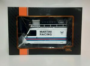 Model Truck Scale 1:18 Van Fiat 242 Martini Car Rally Spear Die Cast