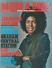 Blues & Soul Magazine No 189 April 76 Jermaine Jackson/Johnnie Taylor Poster