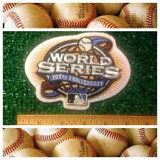"100th MLB World Series Baseball 2003 Florida Marlins NY Yankees Logo 4.75"" Patch"