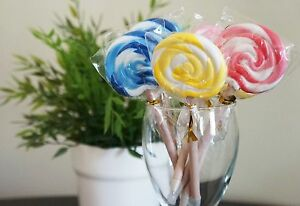 Qteen Cute Candy Cute Packed Lollipop Ball Point Pen Writing Stationery Kid Gift