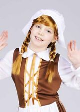 Girls Hetty Feather Style Plaited Wig