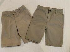 Boys Khaki Shorts 2 Pairs size 6 Excellent Condition Old Navy Uniform ?