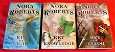 THE KEY TRILOGY by Nora Roberts ~ Complete Set ~ Lot of 3