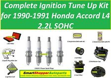 Ignition Tune Up 1990-1991 Honda Accord L4 Ignition Coil, Spark Plug, filter Wir