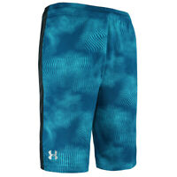 Under Armour Men's Woven Graphic Shorts Teal Print M