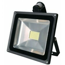 80W (800W Equiv) LED Security Floodlight with PIR Motion Sensor Warm White Light