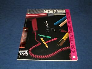 PIVOT POINT-LAYERED FORM-HAIR SCULPTURE-STYLING-VINTAGE 1981 INSTRUCTIONAL BOOK