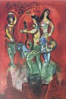Chagall Marc (Según ) : Carmen - Litografía Numerada Y Firmada, 500ex