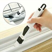 2 in 1 Window Gap Slot Cleaning Small Household Dustpan and Brush Easily Clean