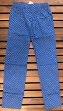 HOM Men's Flowers Pyjama Bottoms - Blue - Large - 400745-00BI