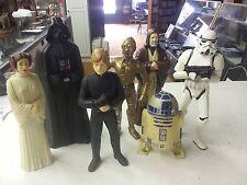 Star Wars90s Lucasfilm Ltd Figures(7)r2-d2Vader,Obi- Wan,LukeLeiaStormtrooper C3p
