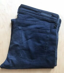 """Diesel Spender """"Denim Sweatpants"""", 32 x 30, Washed Black, Exc Condition"""