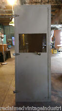 Reclaimed Vintage Industrial Faraday Cage Door. From RCA Plant Indianapolis IN