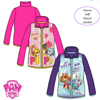Kids Girls Paw Patrol Disney Character Jacket Fleece Jumper Sweat Top,3-4-5-6YRS