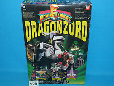 POWER RANGERS MMPR MIGHTY MORPHIN DRAGONZORD MEGAZORD BOXED 100% 528