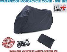 Waterproof Motorcycle Outdoor Motorbike Rain Bike Scooter Sun Cover Tarpaulin UK