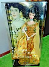 BARBIE KLIMT VAN GOGH MUSEUM NRFB - PINK LABEL model doll collection Mattel