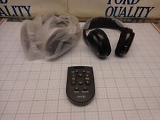FORD OEM NOS Wireless Head Set Headphones Set of 2 with Remote Read Below