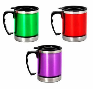 Iso-Becher 0,3L Edelstahl --FARBAUSWAHL-- Thermobecher Isoliertasse Kaffeebecher