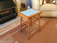 Retro Vintage 1970's kitchen stool Bar Stool