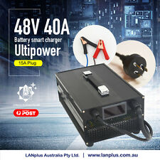 Ultipower 48V 40A Smart Battery Charger Automatic Reverse Pulse 4 Forklift Solar