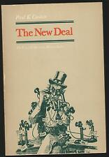 THE NEW DEAL BY PAUL K. CONKIN THE CROWELL AMERICAN HISTORY SERIES