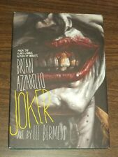 Joker by Brian Azzarello, Lee Bermejo (Hardback, 2008)< 9781845769833
