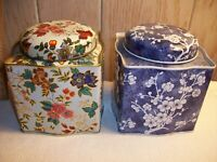 Daher Ware made in England; 2 lovely decorative tins