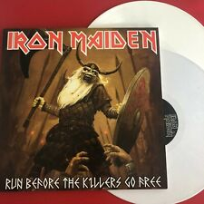 IRON MAIDEN - RUN BEFORE THE KILLERS GO FREE - RARE LIMITED 2LP SET IMPORT