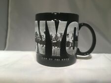 Coffee Mug NYC Top Of The Rock Large  New York City Observation Deck 16 OZ NICE!