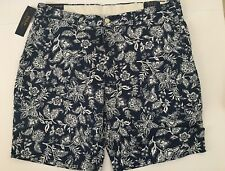 Polo Ralph Lauren Mens Shorts Floral Print Stretch Classic Fit Size 36 NWT