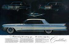 1962 Cadillac Fleetwood ad, Refrigerator Magnet, 40 MIL