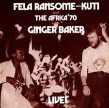 KUTI, FELA - FELA WITH GINGER BAKER NEW VINYL RECORD