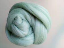 Mint Green* 100% Merino Wool Roving Tops for Felting 50 g