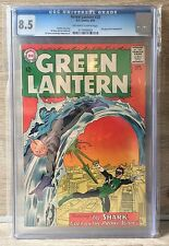 GREEN LANTERN #28 - CGC 8.5 - SHARK APPEARS - OFF WHITE TO WHITE PAGES