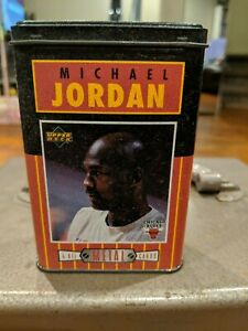 Upper DECK MICHAEL JORDAN all Metal Cards And Box