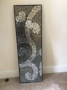 Mosaic Mirrored Wall Art
