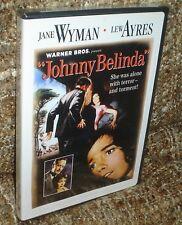 JOHNNY BELINDA DVD, NEW & SEALED, WITH OSCAR WINNER JANE WYMAN & LEW AYRES, RARE
