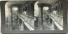 Inde India Palais de Marajah de Tagore Calcutta Photo Stereo Vintage