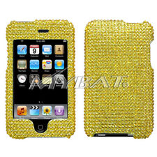 For Apple 2nd generation iPod touch Gold Diamante Case Cover
