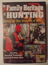 THE FAMILY HERITAGE OF HUNTING DVD BRAND NEW
