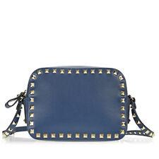 Valentino Rockstud Crossbody Bag - Peacock Blue
