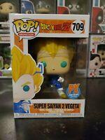 Funko Pop! Dragon Ball Z Super Saiyan 2 Vegeta #709 Previews PX WITH PROTECTOR!