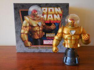 IRON MAN HYDRO ARMOR MINI-BUST BOWEN DESIGNS Perfect Condition Avengers Marvel